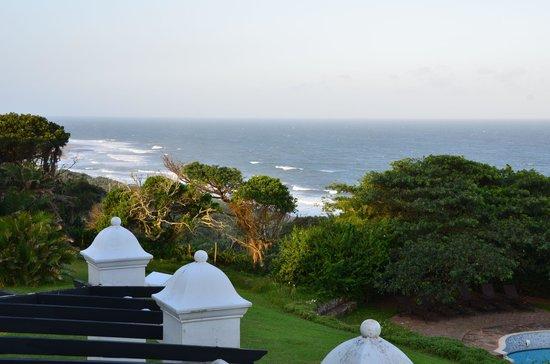 Botha House:                   Blick vom Balkon