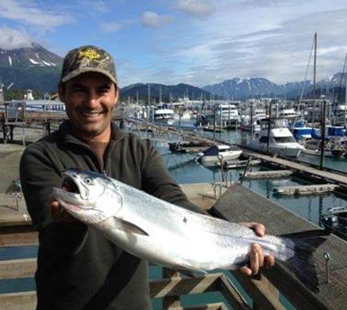 Jimmie Jack's Alaska Lodge: Seward Harbor