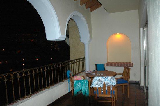 Velas Vallarta: balcony on suite