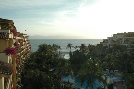 Velas Vallarta Suite Resort: view from our balcony...simply amazing
