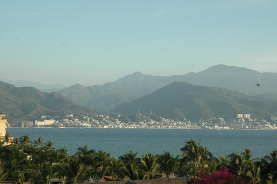Velas Vallarta Suite Resort: another view from the wrap around balcondy