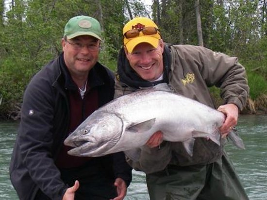 Jimmie Jack's Alaska Lodge: Kasilof King