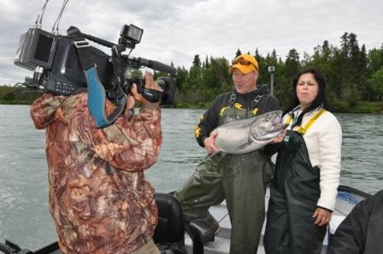 Jimmie Jack's Alaska Lodge: In The News - Globo Reporter