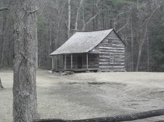 Old Cabin Picture Of Cades Cove Great Smoky Mountains