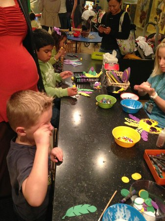The Woodlands Children's Museum: The Muse- Art bar