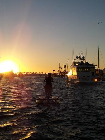 Pacific Coast Hydrobikes: hydrobiking into the sunset