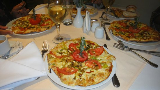 Sharm Grand Plaza: Vegi Pizza