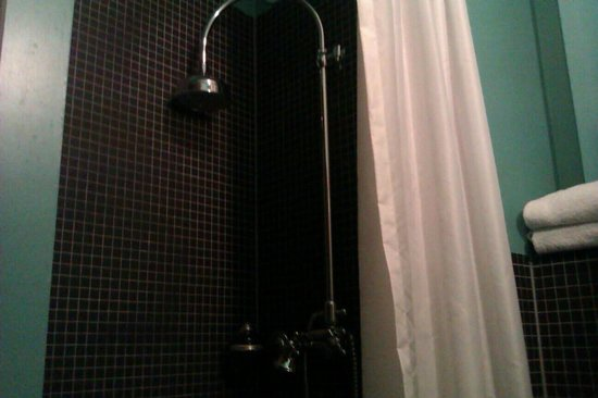 Hotel Le Berger:                   massive shower head