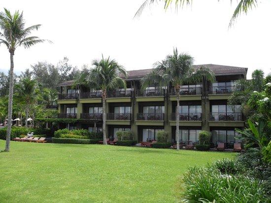 Anantara Si Kao Resort: Looking at my building 3rd floor