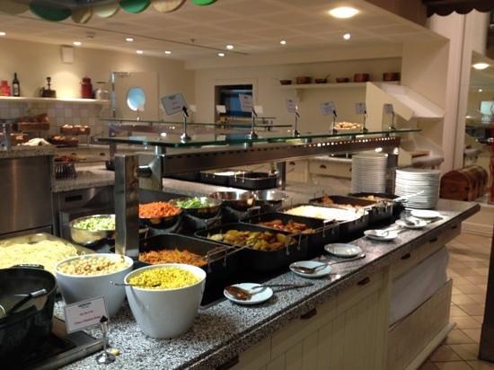 Herods Tel Aviv:                   Dinner boufet