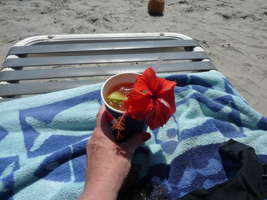 Hotel Verde Mar:                                     BloodyMary from vender on the beach...it was perfect!