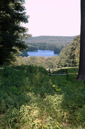 Poland Spring Resort: View of the Lake from the Golf Course