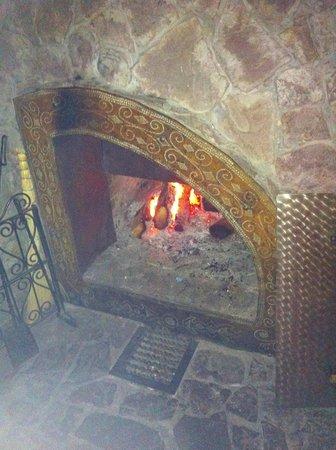Timan House:                                     chimney