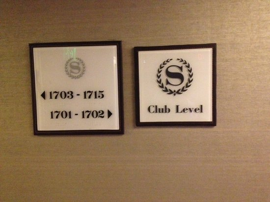 Sheraton Libertador Hotel: Club level