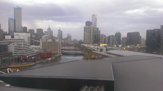 Pan Pacific Melbourne:                   View