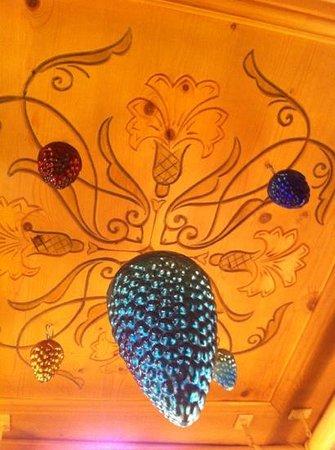 Villa Engiadina:                   Eingangsdecke Hotel Traube