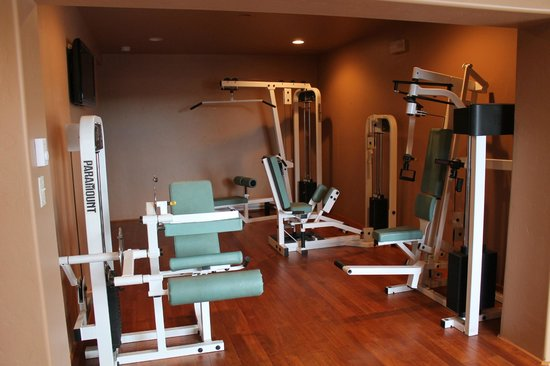 The Greer Peaks Lodge: Some of our fitness area