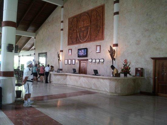 Grand Palladium Punta Cana Resort & Spa:                   lobby hotel