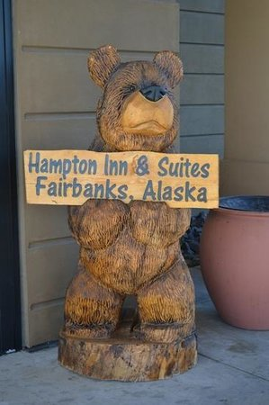 Hampton Inn & Suites Fairbanks:                   Welcome!