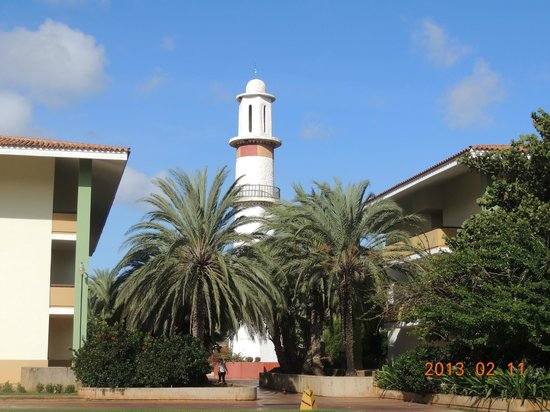 Dunes Hotel & Beach Resort:                                     Phare sur le site hôtelier