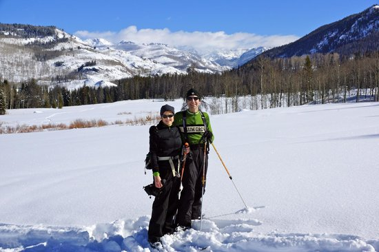 Vista Verde Guest Ranch:                   back-country skiing in Routt Nat'l Forest