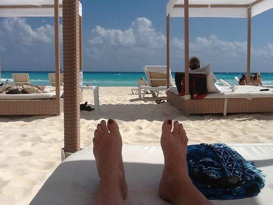 صنسيت فيشرمان - شامل جميع الخدمات:                   Beds on the beach                 
