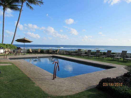 Alihi Lani Poipu Beach Oceanfront Condominiums: ONLY 6 UNITS - NEVER WAIT FOR A BEACH CHAIR