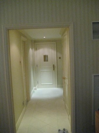 The Landmark London:                   Huge hallway with lots of storage