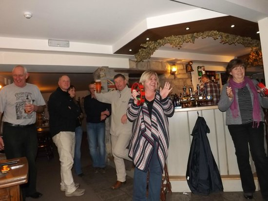 The Five Dials Inn:                   The local Celtic music support