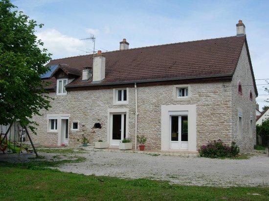 Aux Mésanges :                                     View of the house