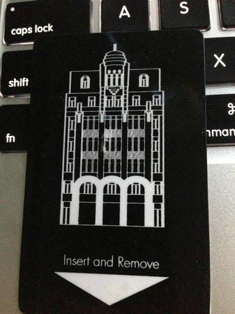 Moreno Hotel Buenos Aires: room key