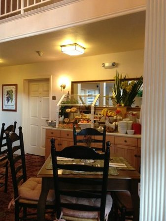 Best Western Plus Elm House Inn:                   Continental Breakfast Area