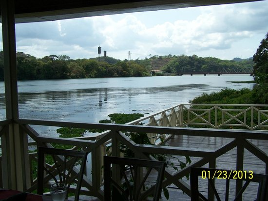 Gamboa Rainforest Resort :                   View from riverside restaurant