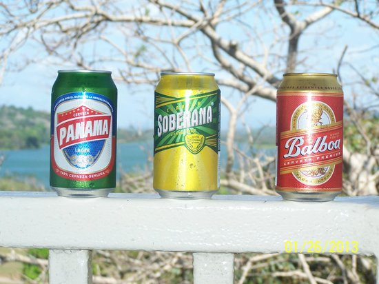 Gamboa, Panamá:                   Three Panamanian Adult Beverages