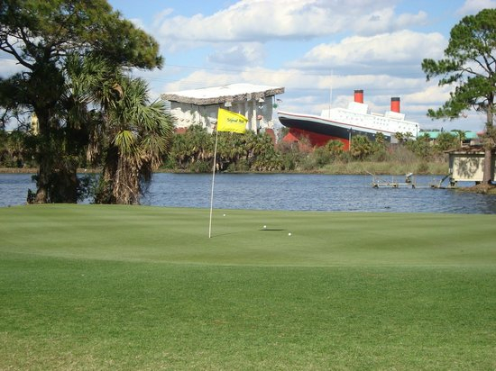 Signal Hill Golf Course:                   Panama City Beach attractions from #13 green