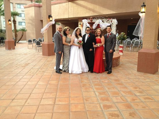 Holiday Inn Casa Grande:                                     Crystal and Brandon Wedding 2-9-13