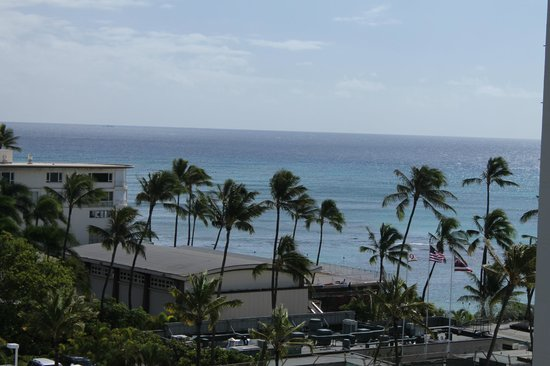 Lotus Honolulu at Diamond Head:                   View from room Ocean