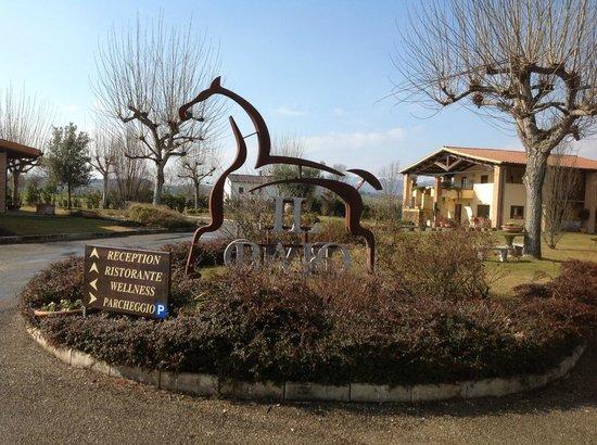 Il Baio Relais & Natural SPA: esterno hotel