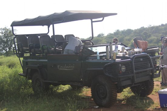 Ezulwini Game Lodges :                   Drink stop. You'll be glad these are covered!