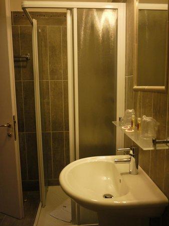 Hotel du Louvre:                   shower                 