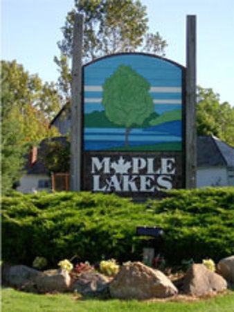 Maple Lakes Campground is easy to find!