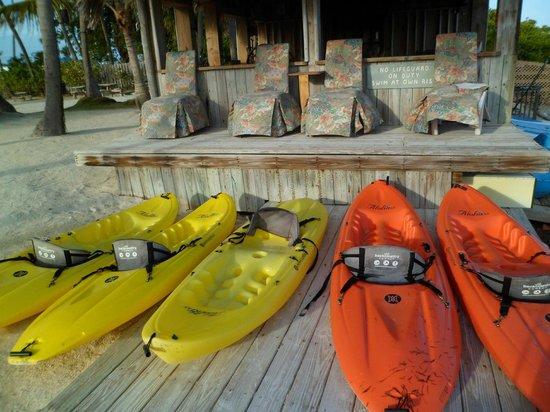Chesapeake Beach Resort:                   Kayaks