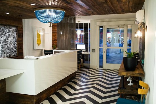 Inn at Venice Beach:                   Reception