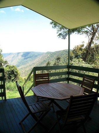 Eungella Mountain Edge Escape:                   Breakfast on the balcony