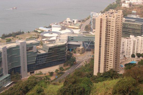 The T Hotel:                   Вид из окна