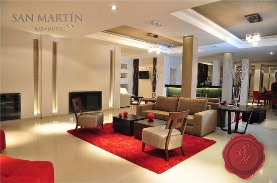 San Martin Plaza Hotel: Hotel lobby