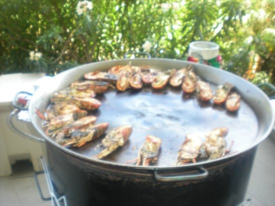 Iberostar Grand Hotel Paraiso: Lobster on the grill