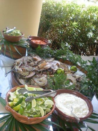 Iberostar Grand Hotel Paraiso: Fresh Seafood