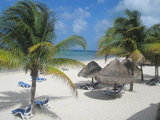 Melia Vacation Club Cozumel All Inclusive & Golf:                   View of beach