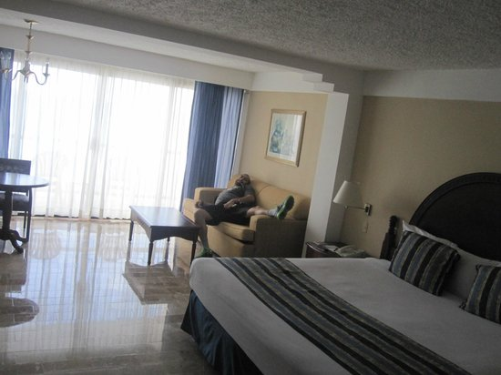 Melia Vacation Club Cozumel All Inclusive & Golf:                   Inside our room